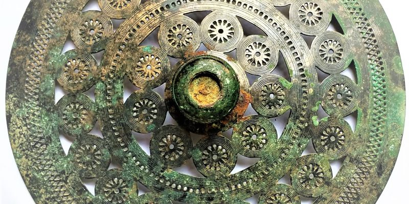 Pettorale in bronzo
